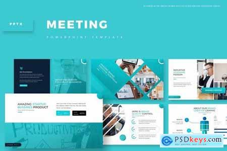 Meeting - Powerpoint Google Slides and Keynote Templates