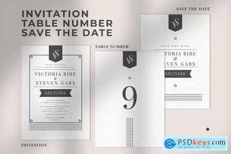 Wedding Invitation Suite - VICSTE
