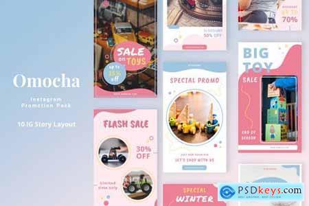 Omocha - Instagram Story Pack