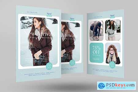 Winter Fashion Sale Flyer