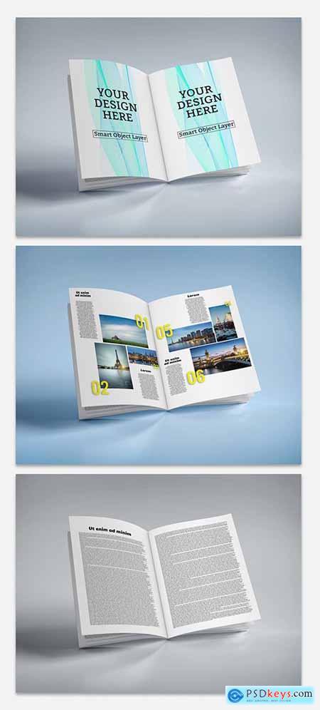 Open Magazine Mockup 221859657