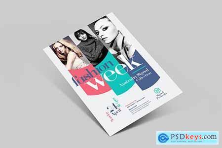 Fashion Week Flyer