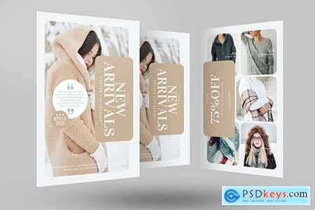Winter Fashion Sale Flyer704