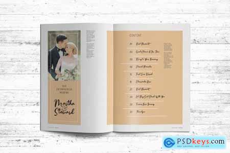 Wedding Album Template 4340888