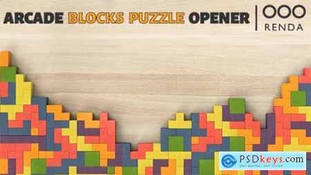 Videohive Arcade Blocks Puzzle Opener 21317006