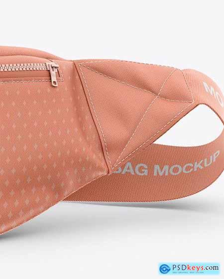 Bum Bag Mockup - Front View 51513