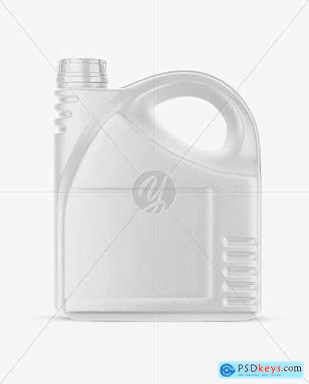 Plastic Canister Mockup 51482