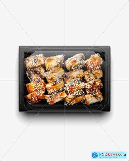 Sushi Set Mockup 51418