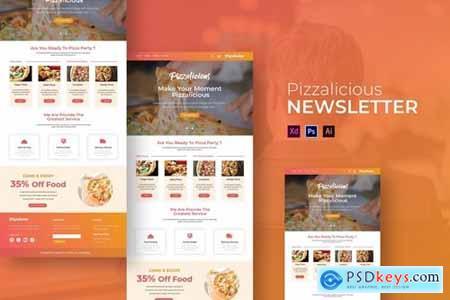Pizzalicious - Newsletter