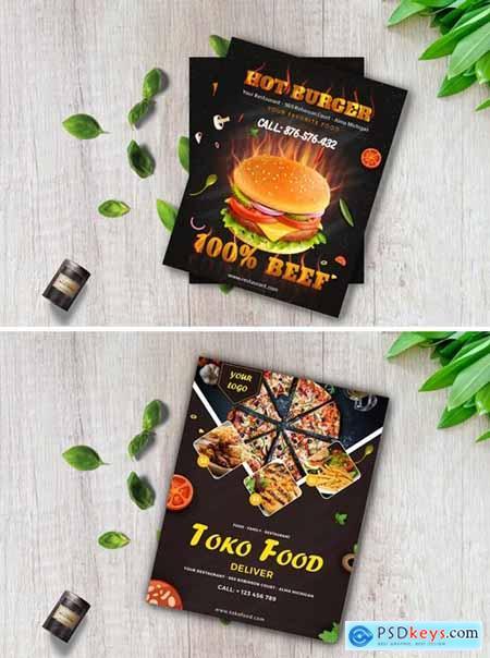 Modern Food Flyer 2