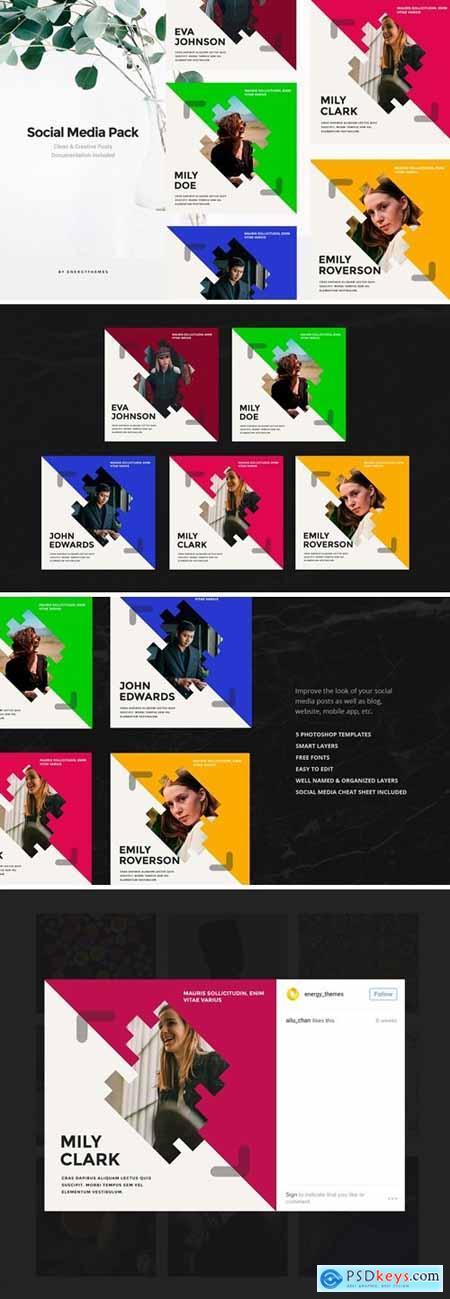 Social Media Banners - Vol100