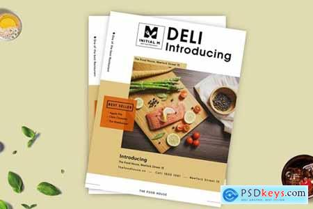 Modern Food Flyer 1