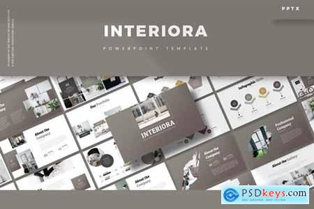 Interiora Powerpoint, Keynote and Google Slides Templates