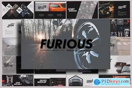 Furious - Sport Powerpoint, Keynote and Google Slides Templates