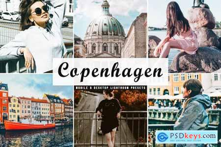 Copenhagen Mobile & Desktop Lightroom Presets