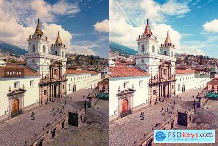 Ecuador Mobile & Desktop Lightroom Presets