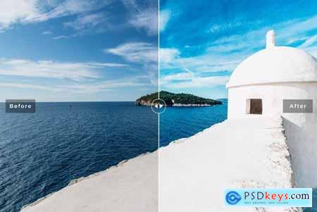 Dubrovnik Mobile & Desktop Lightroom Presets