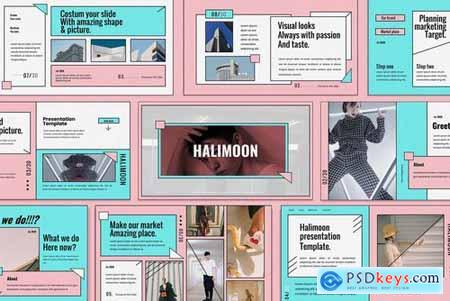 Halimoon Powerpoint Google Slides and Keynote Templates