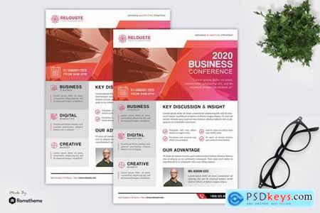 Relouste - Creative Business Conference Flyer