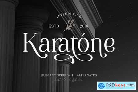 Karatone - Elegant Serif 4416976