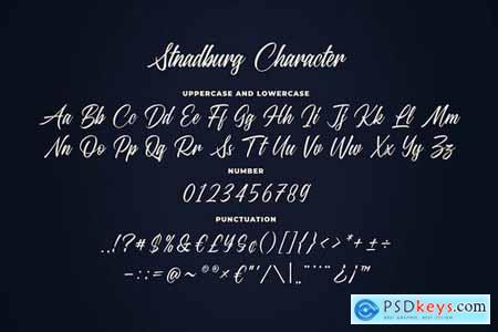 Standberg Script Font
