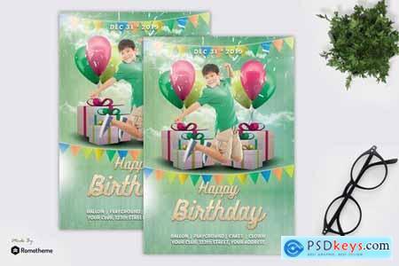 Kids Birthday Party - Flyer