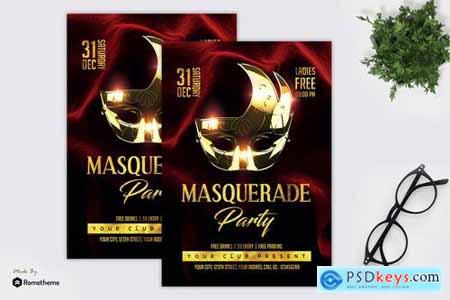 Masquerade Party - Flyer