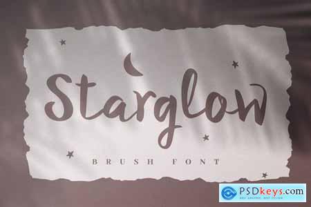 Starglow - Bold Handwritten Script Font