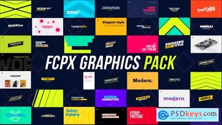 Videohive Motion Graphics Pack FCPX 25354995