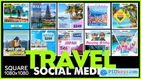 Videohive Social Media Promo TRAVEL 25366874