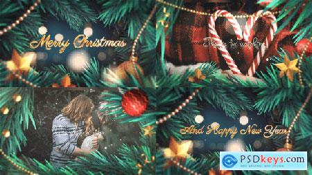 Videohive 2K20 Christmas Slideshow 25329267