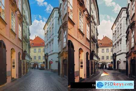 50 Prague Lightroom Presets and LUTs 4417553