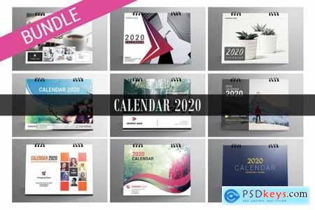 Desk Calendar Bundle 2020 4415976