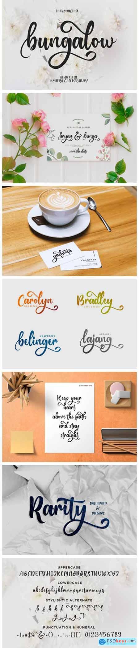 Bungalow Font