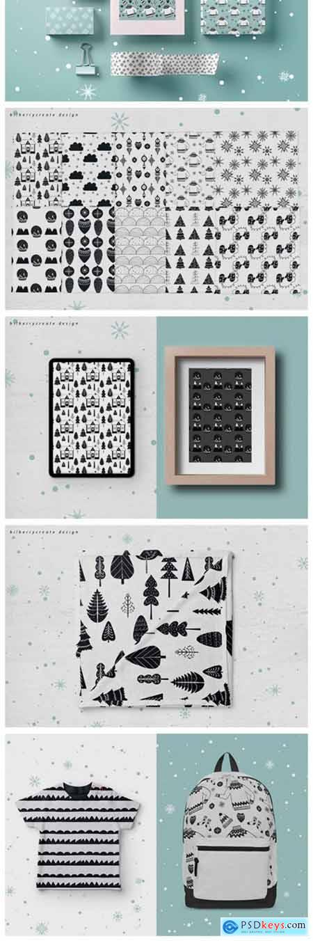 Scandi Seamless Pattern 2129895