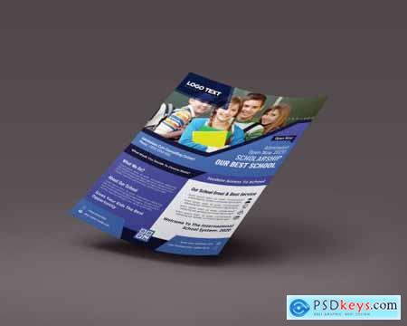 Admission Flyer Templates 4408325