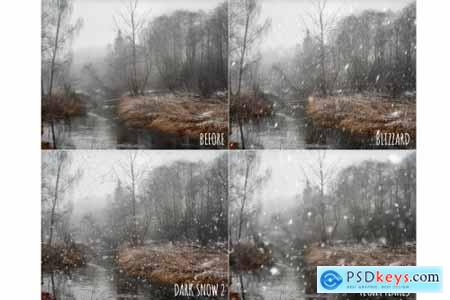 Realistic snow overlays 4405059