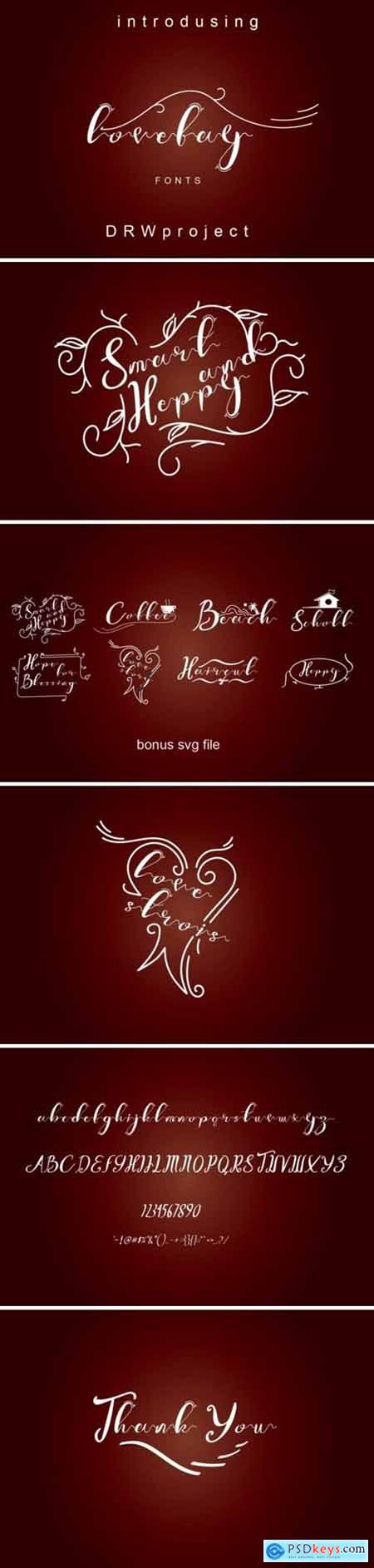 Lovelay Font