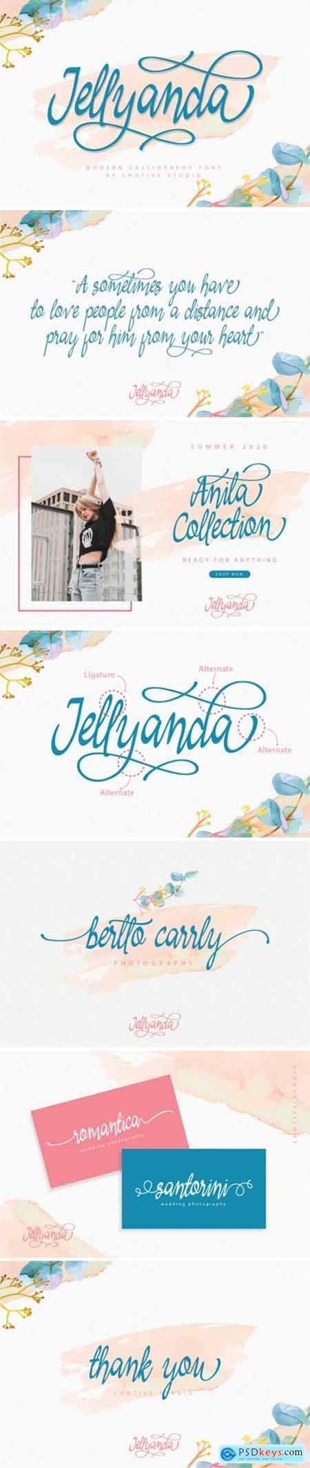 Jellyanda Font