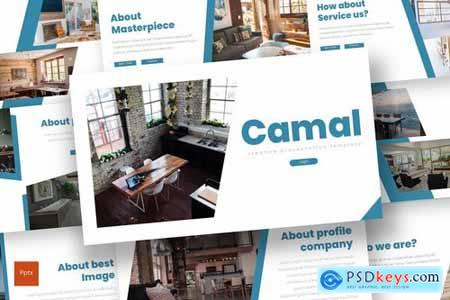 Camal - Powerpoint and Keynote Templates