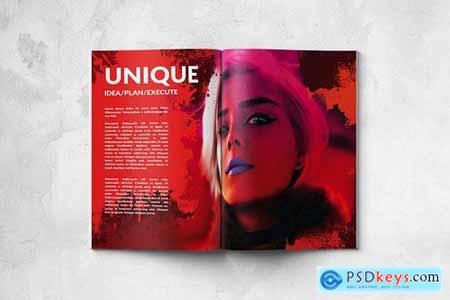 Artistic Portfolio - A4 & US Letter - 16 pgs
