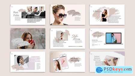 QIONA - Fashion Powerpoint Google Slides and Keynote Templates
