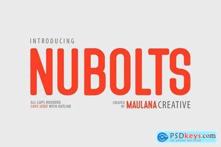 Nubolts Rounded Sans Family Font