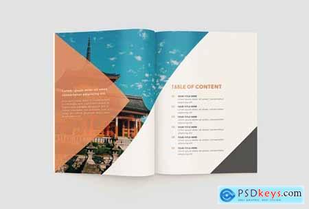 Travel Catalogue Brochure