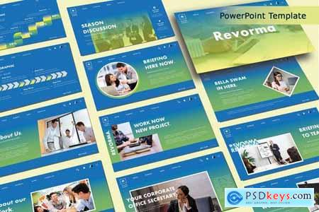 REVORMA - Business Powerpoint Google Slides and Keynote Templates
