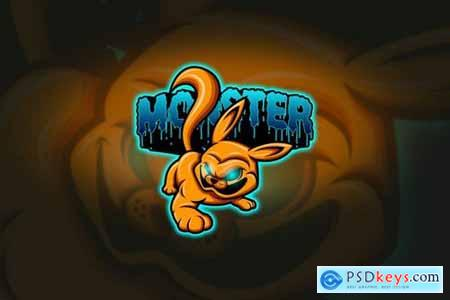 Monster - Mascot & Esport Logo