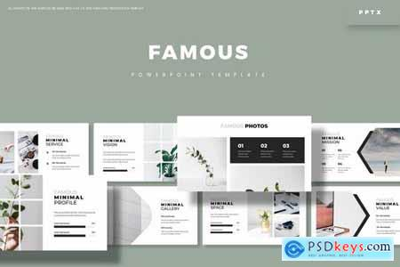 Famous - Powerpoint Google Slides and Keynote Templates