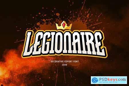 Legionaire - Font