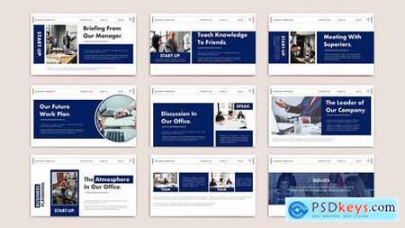 START UP - Business Powerpoint Google Slides and Keynote Templates