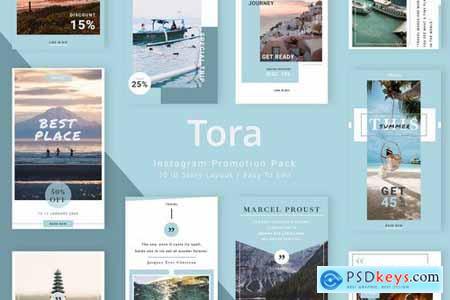 Tora - Instagram Story Pack